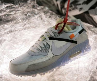 """The Virgil Abloh x Nike Air Max 90 May Drop in """"University Red"""""""
