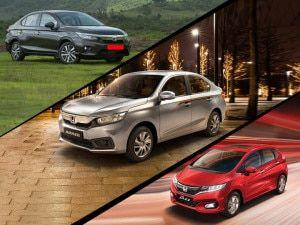 Honda Amaze Jazz WR-V And Fifth-gen City Prices Increased By Up To Rs 12000
