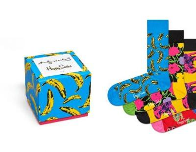 Happy Socks unveils limited-edition Andy Warhol collection