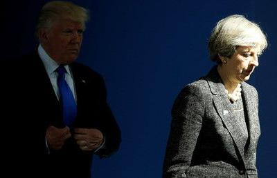 PM May seeks to discuss her Brexit stance with Trump, who says it could sink trade deal with US