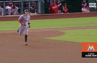 WATCH: Peter O'Brien erupts for a 2-run homer against the Nats