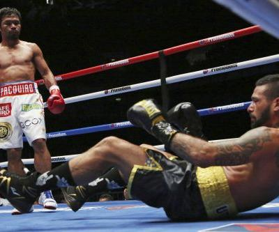 Manny Pacquiao turns back time in dominant seventh-round KO
