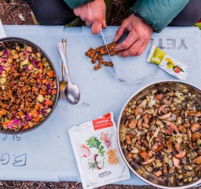 Patagonia has its own little-known line of prepared foods that can be eaten while camping or at home - and it's surprisingly delicious