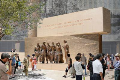 More changes made to design of stalled Eisenhower Memorial to appease grandchildren
