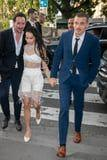 Zoë Kravitz Wore the Coolest Outfit to Her Rehearsal Dinner, and It Involved Bike Shorts
