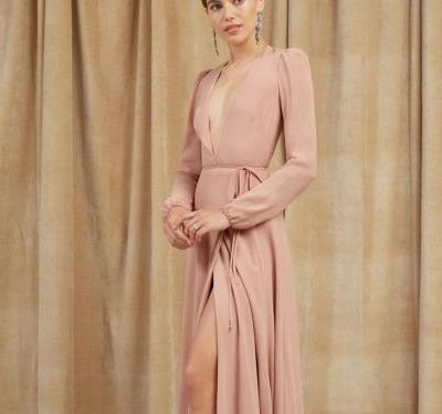 Why Not Wear Blush On Your Wedding Day?