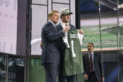 Sam Darnold might be New York Jets' starting quarterback by opener