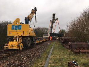 Six Days of Rail Improvement Work Successfully Completed on the Heart of Wessex line