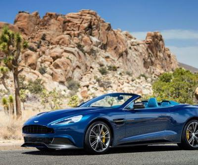 Someone Paid R370 Million For The Outgoing Aston Martin Vanquish Design Drawings and Tools
