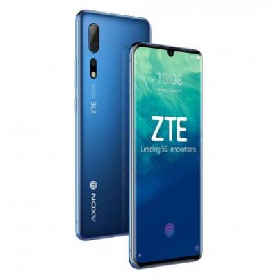 ZTE Axon 10 Pro 5G official with Snapdragon 855, triple rear camera setup