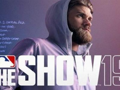 MLB The Show 19's Cover Athlete Is Bryce Harper, But His Team Is TBD