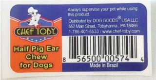 More pig ear dog treats recalled in multistate outbreak