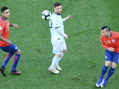 Messi sent off in Copa America third-place playoff