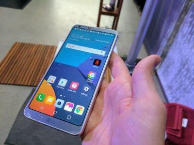 The LG G6 looks good enough to hold its own against other Android flagships