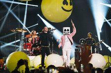 Marshmello Performs With 'FRIENDS' Anne-Marie & Bastille at 2018 MTV EMAs