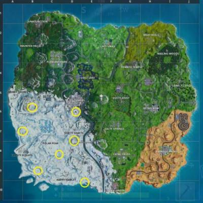 Fortnite: where to find the Chilly Gnomes
