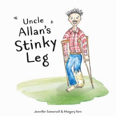 Be in to win one of five copies of NZ children's book Uncle Allan's Stinky Leg by Jenny Somervell, valued at $21.95 each