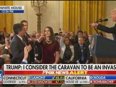 Kellyanne Conway insists doctored White House video of CNN reporter isn't doctored