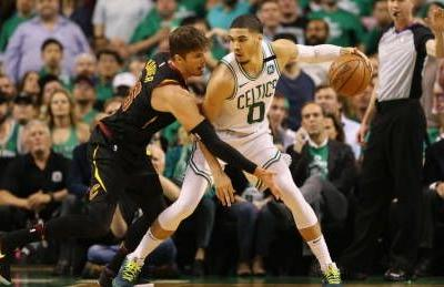 Celtics limit LeBron to push Cavaliers to edge of elimination