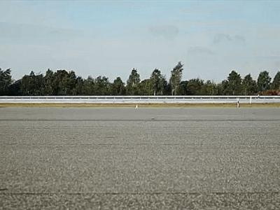 Watch Daniel Abt Drive An Electric Audi RS3 To A Reverse Land Speed Record