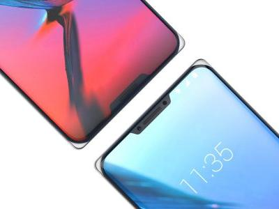 ZTE 'Iceberg' phone concept shows off two notches and clear corners