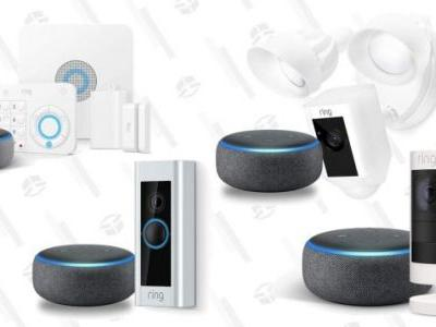 Everything Ring Is On Sale, Complete With Free Echo Dots