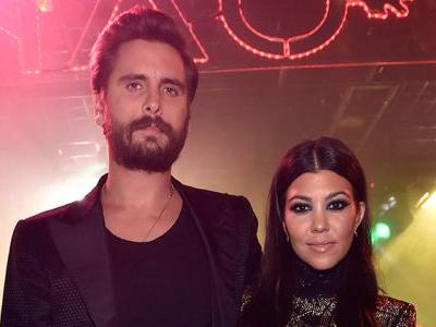 Exes Kourtney Kardashian And Scott Disick Reunite For A Family Vacation In NYC