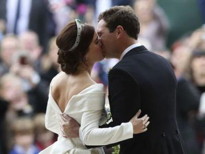 'You Look Perfect:' Princess Eugenie Of York Marries In Another Royal Wedding