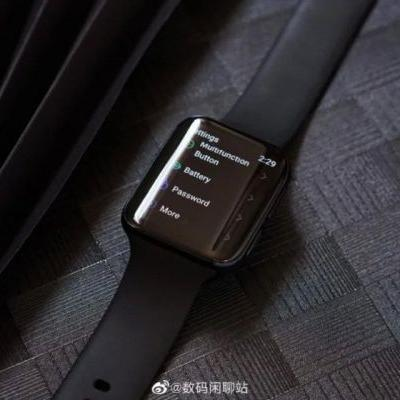 New Oppo Smartwatch with Google WearOS leaked