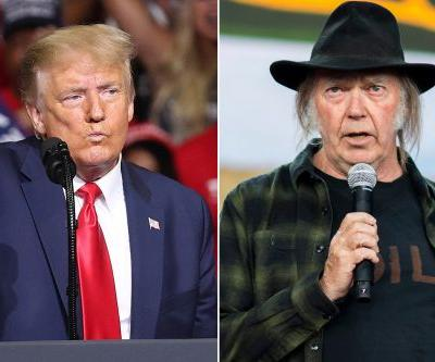 Neil Young sues Trump campaign for using his songs at rallies