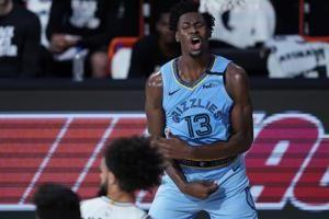 Grizzlies' Jaren Jackson Jr. out with left knee injury