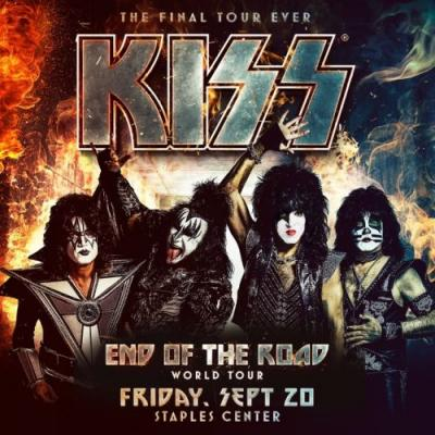 KISS Announces Los Angeles Show To Wrap Up Second American Leg Of 'End Of The Road' Tour