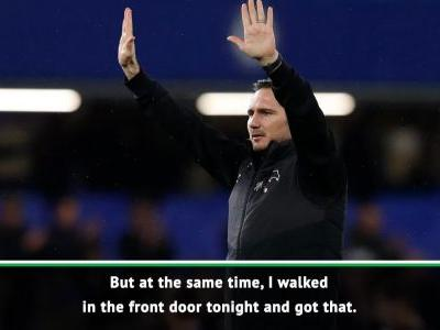 Chelsea fans singing for me was incredible - Lampard