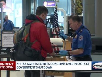 TSA workers hope for end to government shutdown