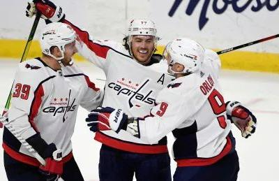 Oshie, Ovechkin combine for 5 goals as Capitals outduel Senators in offensive shootout