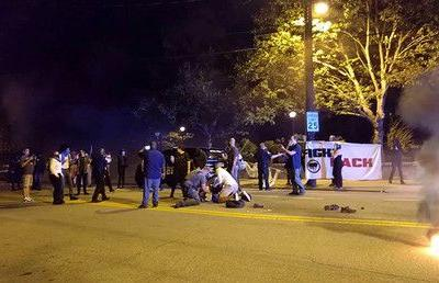 3 arrests, 2 cops hurt as riot breaks out at Georgia Tech over fatal police shooting of student