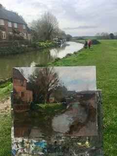 Beside the Oxford Canal in Somerton