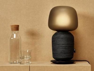 Ikea's new smart speaker looks like a HomePod crossed with a lamp