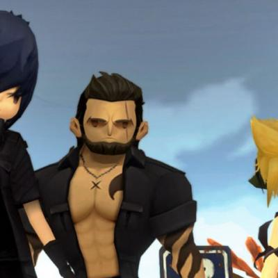 Final Fantasy XV Pocket Edition HD PS4 Gameplay - Fighting Imperial Magitek Soldiers