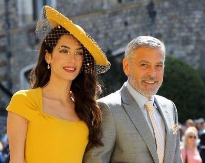 Amal Clooney Had $270 Worth of Product in Her Hair at the Royal Wedding