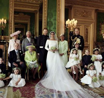 There's a 'mistake' in Harry and Meghan's official royal wedding photos - can you spot it?