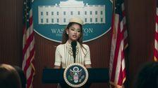 Ariana Grande Hailed As 'Our President' In White House Video For New Single 'Positions'