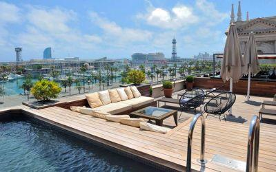 Top 10: the best Barcelona hotels with rooftop pools