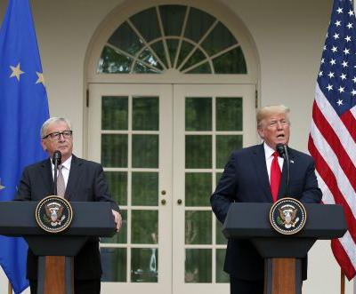 Trump rolls out trade agreement with the EU one day after escalating tensions with China