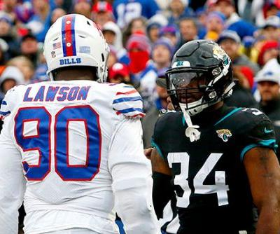Battle for the ball turns into wild Bills-Jaguars melee