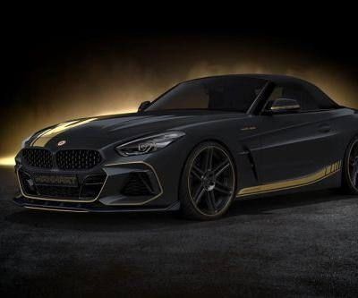 Manhart Tease Their Mean 500 HP BMW Z4
