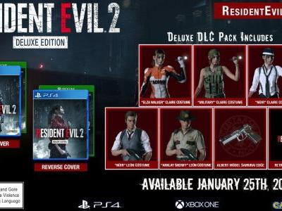 Resident Evil 2 Gets Reversible Cover, DLC Costumes