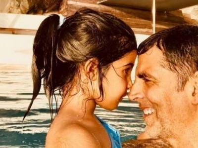 Akshay Kumar with daughter Nitara in new workout video is just the Monday Motivation you need