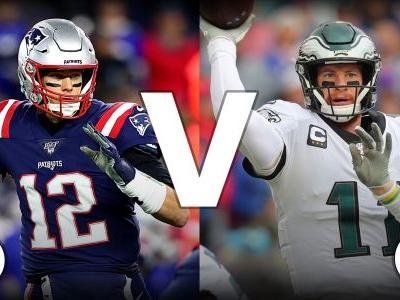 What channel is Patriots vs. Eagles on today? Schedule, time for Week 11 NFL game