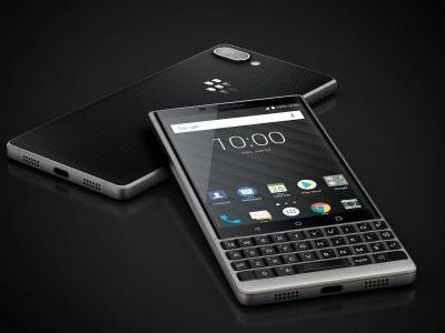 The new BlackBerry smartphone is here - and yes, it has a keyboard